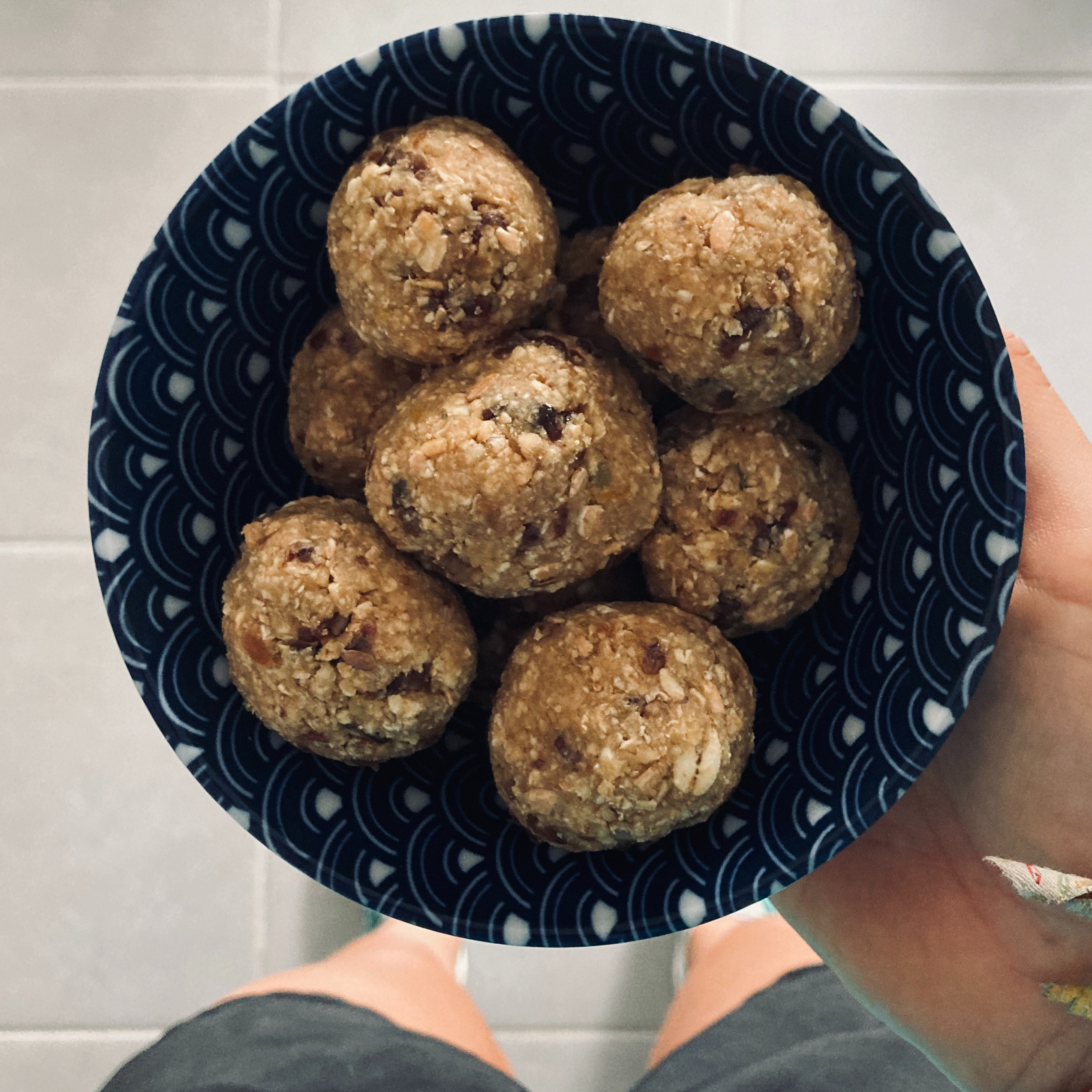 [Recette] Energy ball Pomme/Cannelle